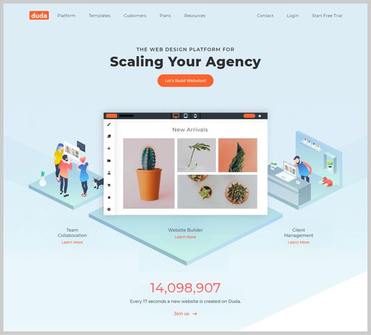 Duda - Website Creator