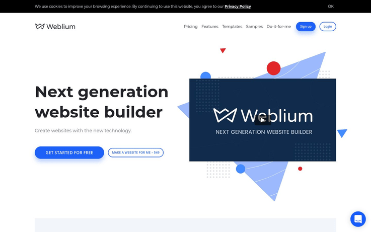 Weblium - Website Creator