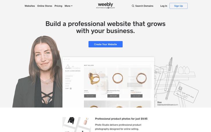 Weebly - Website Creator