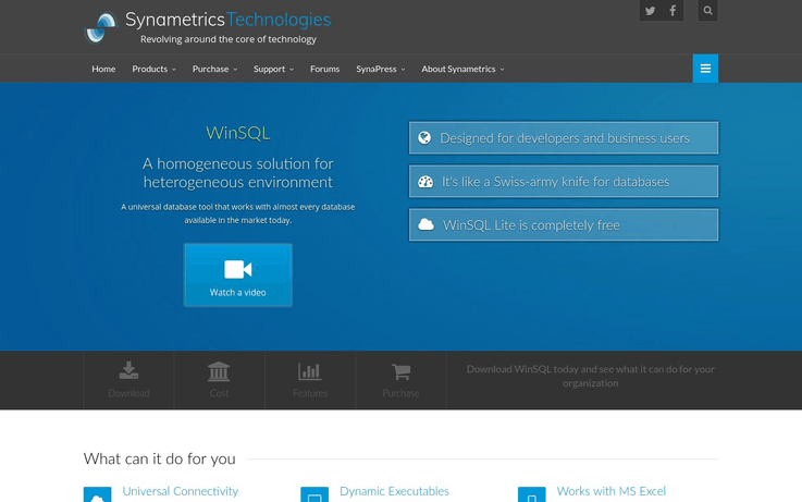 WinSQL - Best Data Entry Software