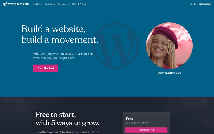 WordPress.com - Website Creator