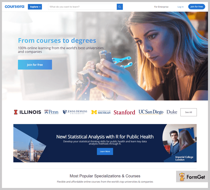 Coursera - Online Learning Platforms