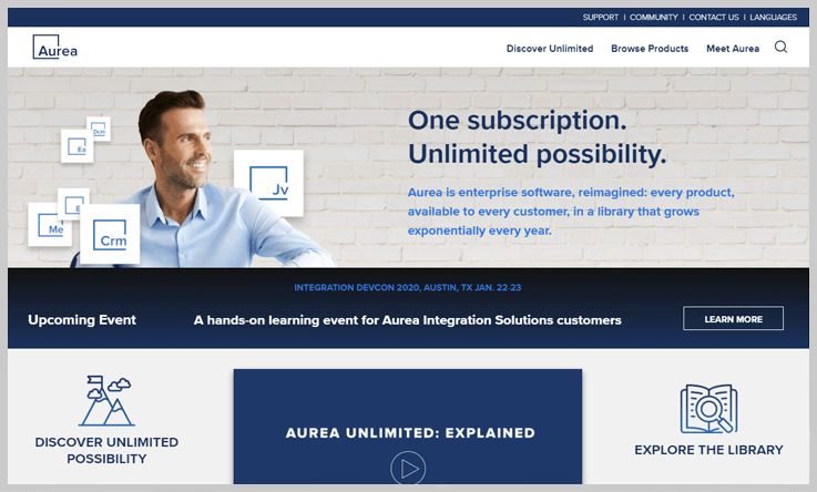 Aurea - Mailup Alternatives
