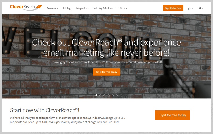 CleverReach - Clearbit Connect Alternatives