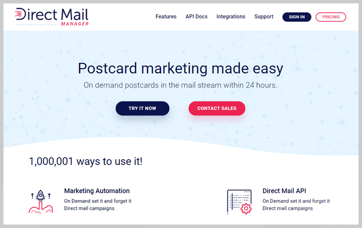 Direct Mail Manager - Concep Alternatives