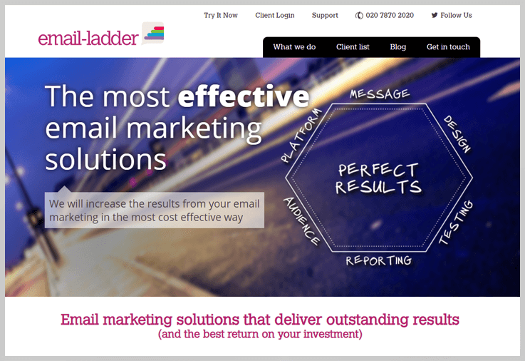 Email ladder - Profusion Alternatives