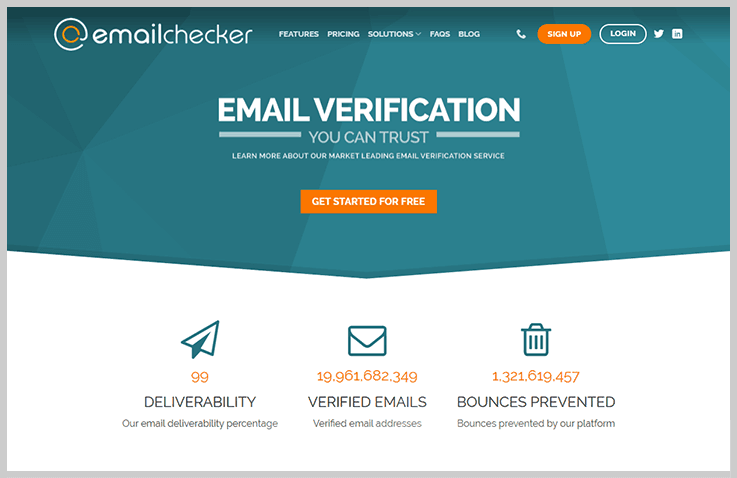 EmailChecker Email List Cleaning Service