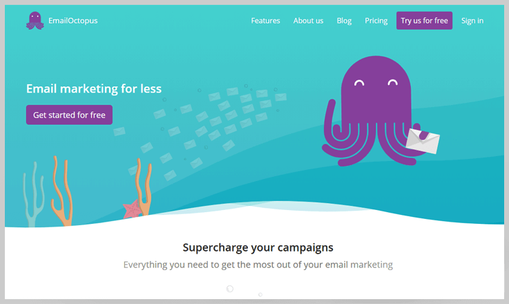 EmailOctopus - Alternatives To Mailjet