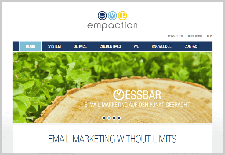 Empaction - Mister Mail Alternatives