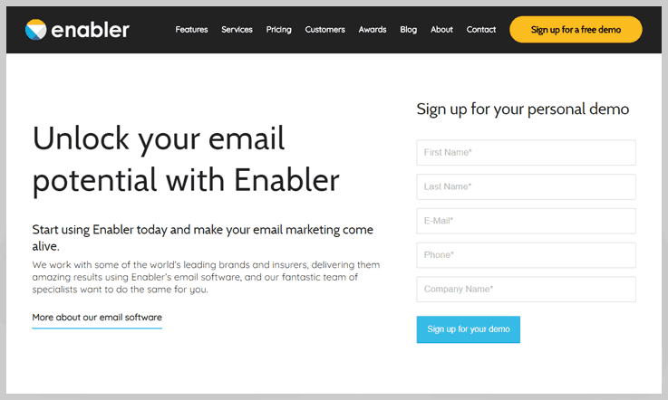 Enabler - Salesforce Marketing Cloud Alternatives
