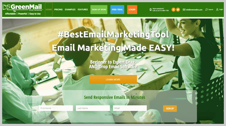 Green Mail Internet Marketing - Enchant Agency Alternatives