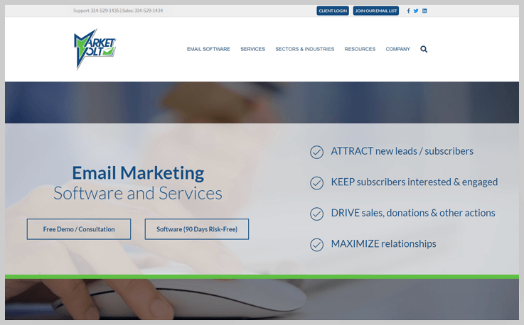 MarketVolt - Mister Mail Alternatives