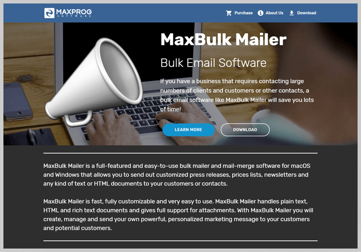 MaxBulk Mailer - Pabbly Email Marketing Alternatives