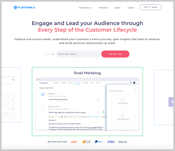 Platformly - Engagebay Alternatives