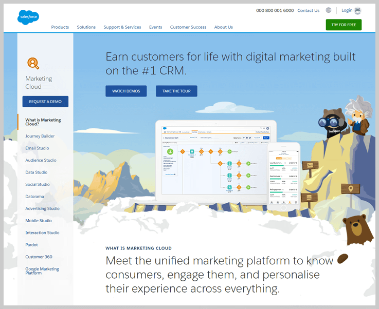 Salesforce Marketing Cloud - Enabler Alternatives