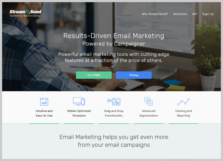 StreamSend - Pabbly Email Marketing Alternatives