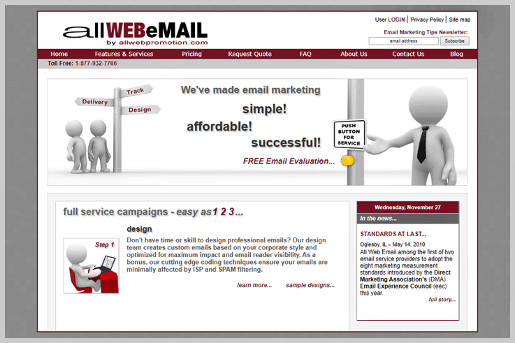 allWEBeMAIL - Pepo Campaigns Alternatives