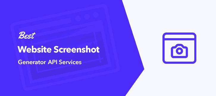 Best Website Generator API Services