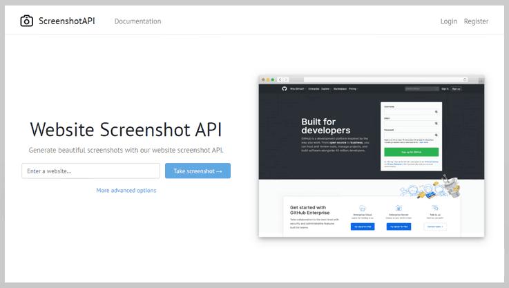 Screenshot API