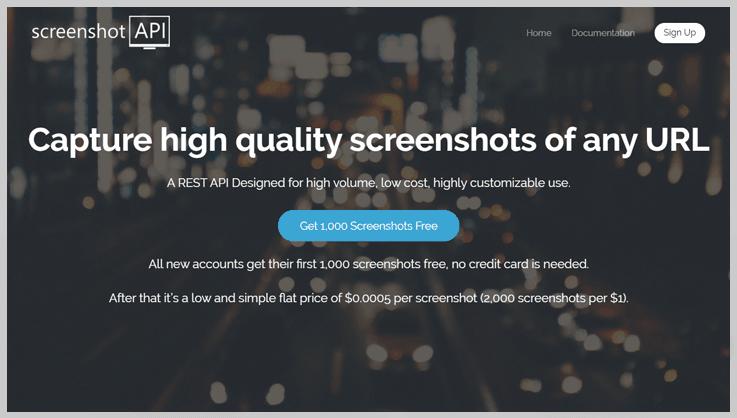 Screenshotapi