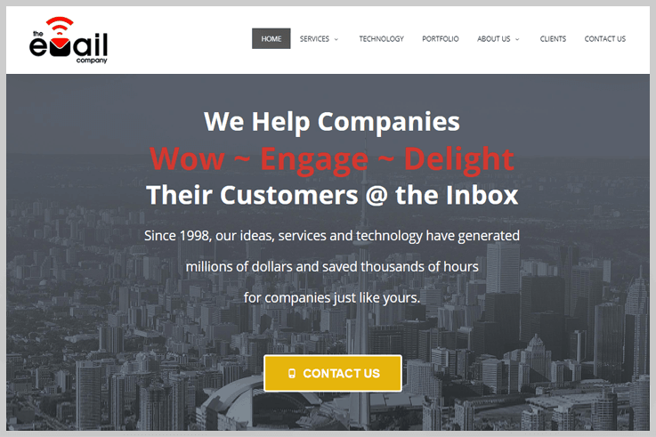 The Email Company - Customer Io Alternatives