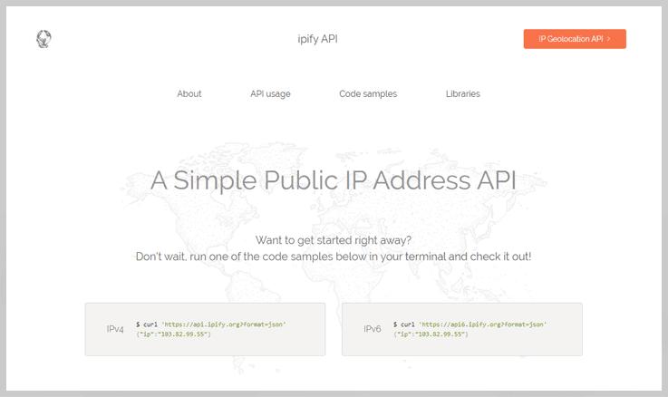 ipify API