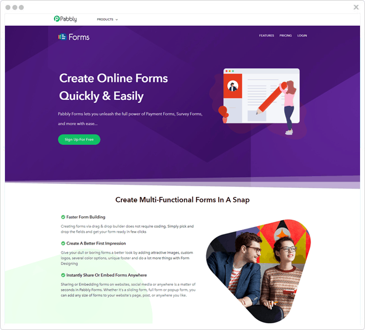 Pabbly Forms - JotForm Alternative