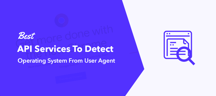 Best Service Detect Operating System From User Agent
