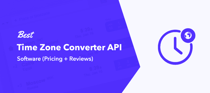 Best Time Zone Converter API Services