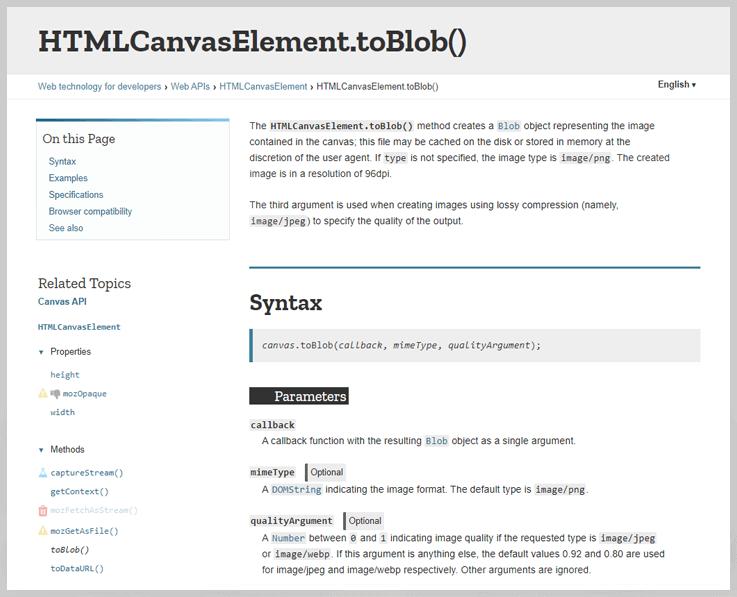 HTMLCanvasElement