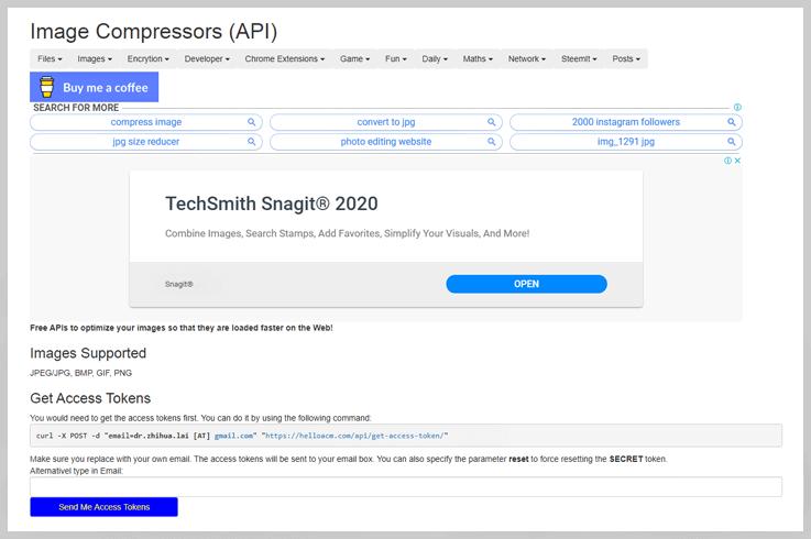Image Compressors (API)