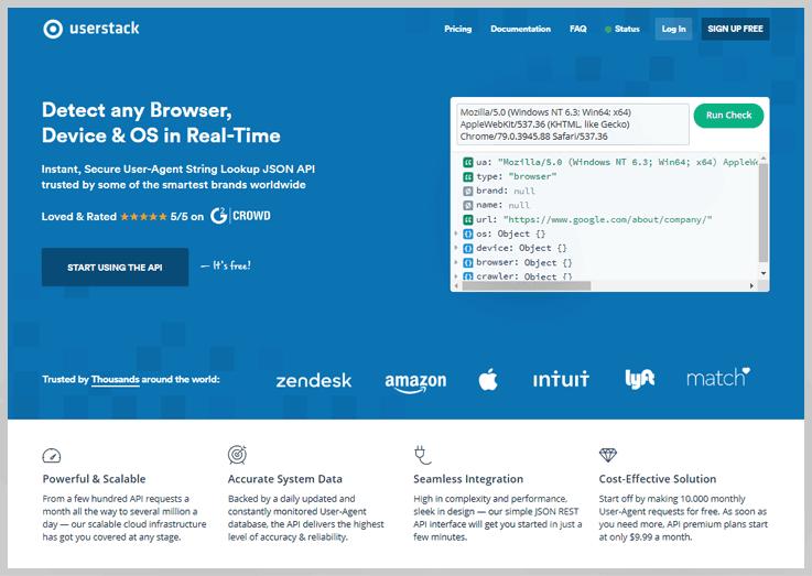 userstack