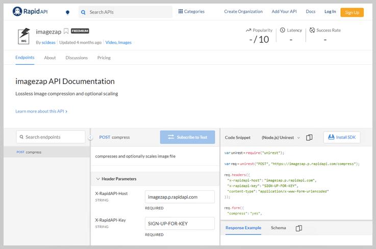 imagezap API