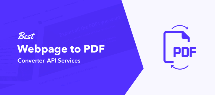 Best Email to PDF Converter API Services