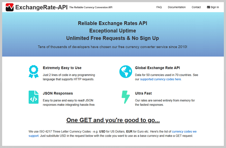 ExchangeRates-API