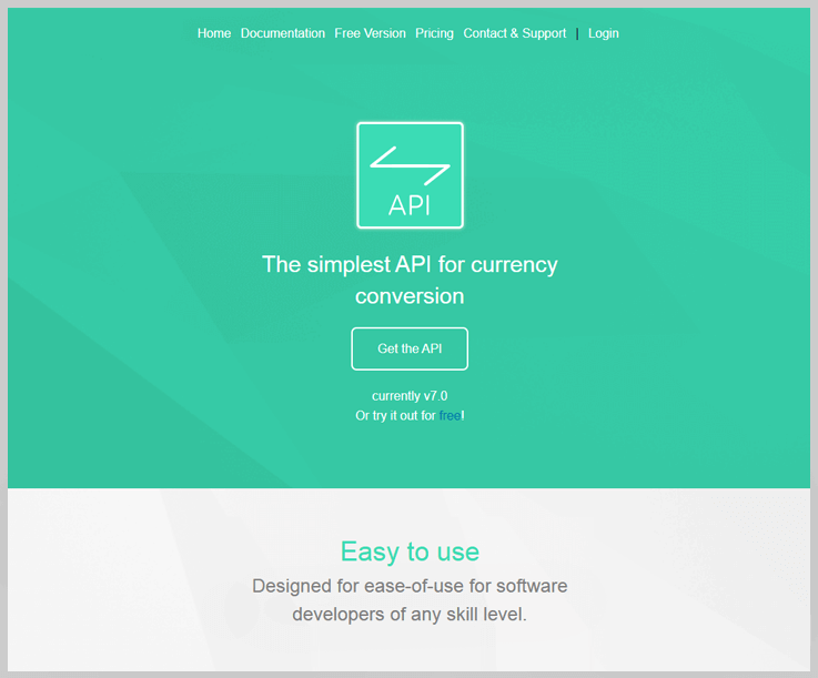 Free Currency Converter API