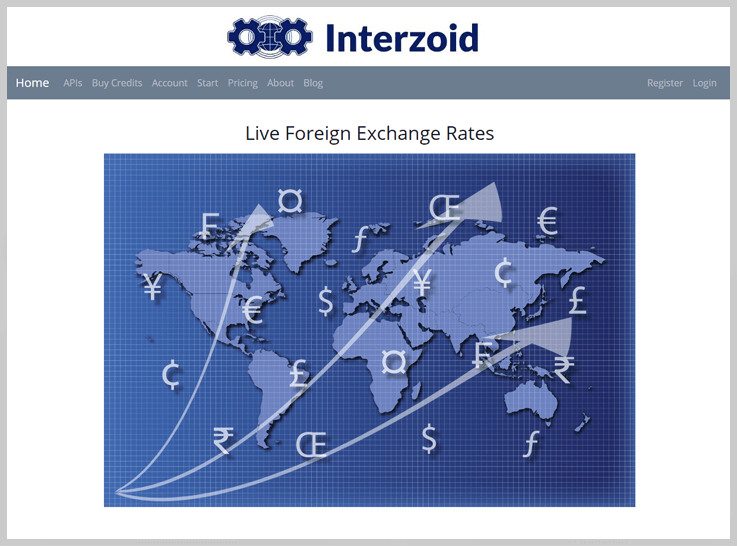 Interzoid Exchange Rate APIs