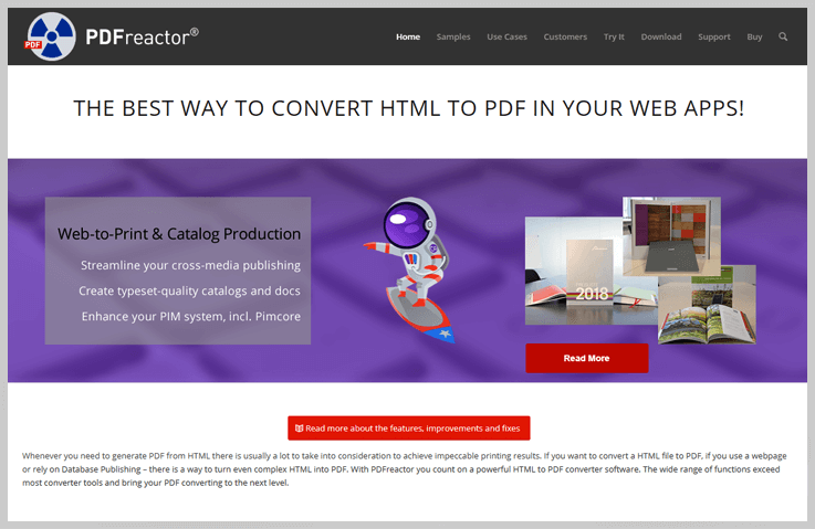 PDFreactor - Export Web To Pdf