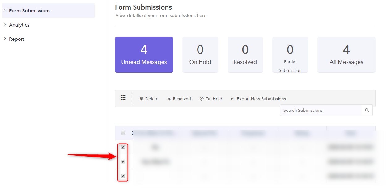 Select Responses-Pabbly Form Builder