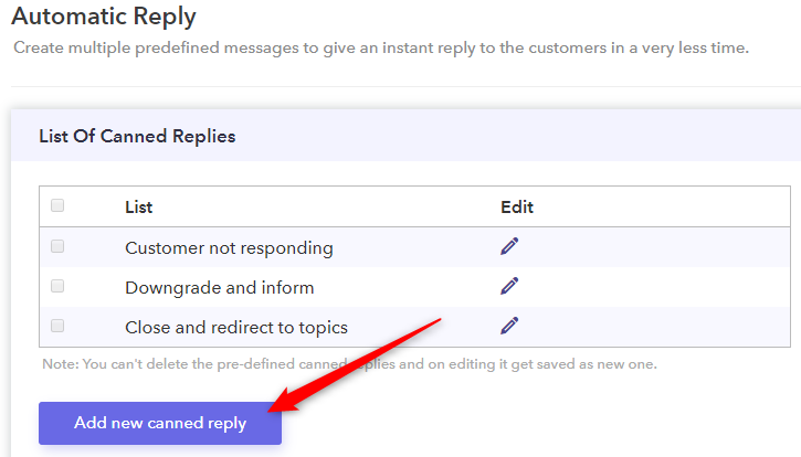 Add New Canned Reply - Pabbly Form Builder