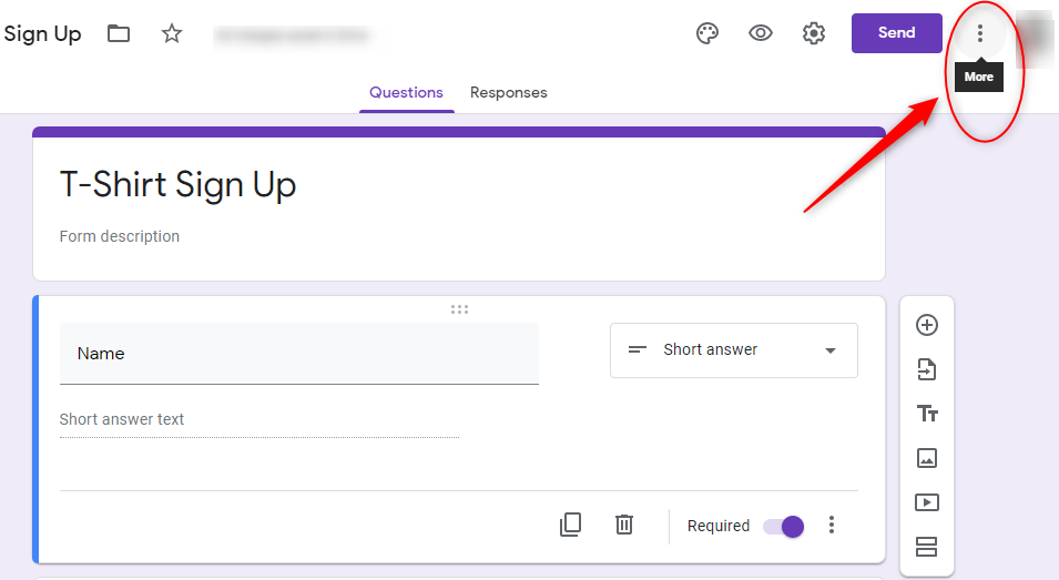 Clone Your Form - Google Forms
