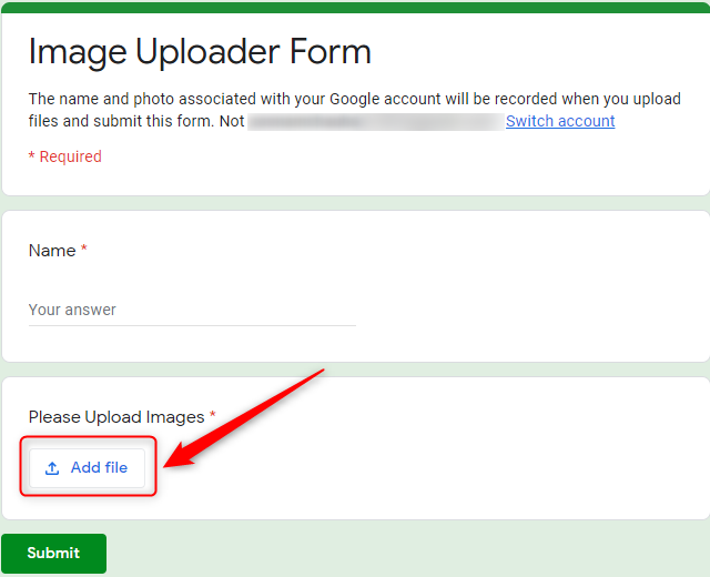 Preview Your Form - Google Forms