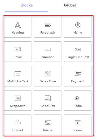 Add Form Essentials - Pabbly Form Builder
