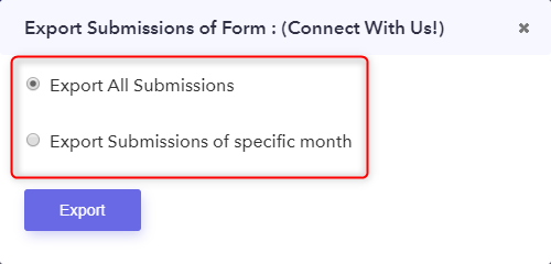 Download Responses - Pabbly Form Builder