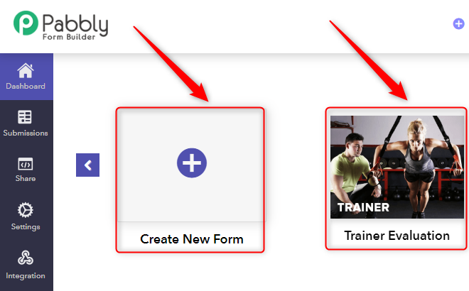 Create Form - Pabbly Form Builder