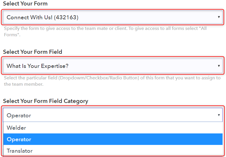 Adding Access According To Conditions - Pabbly Form Builder