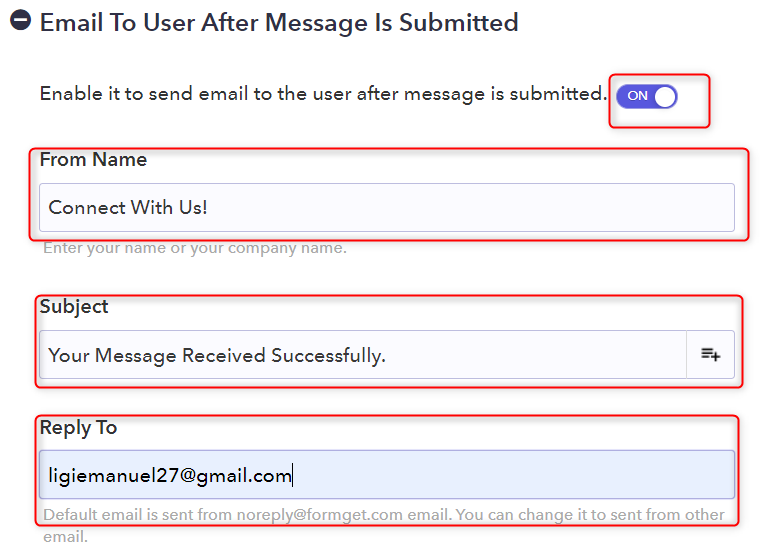 Draft The Confirmation Email - Pabbly Form Builder