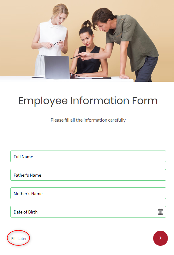 Preview - Save And Resume Forms