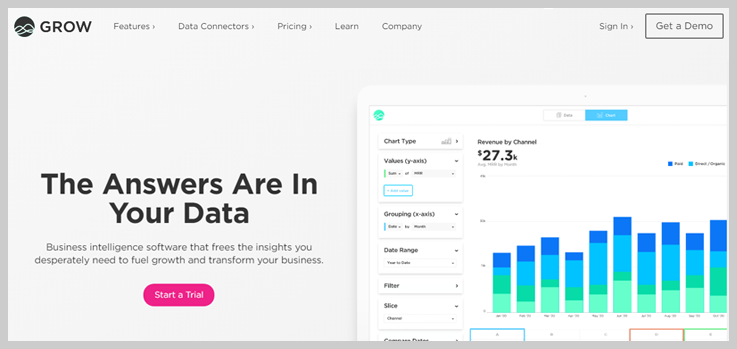 Grow - Business Intelligence Software