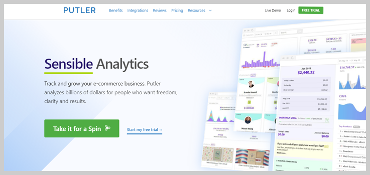 Putler - Analytics Tool